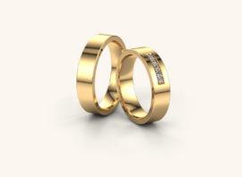 Обручальное кольцо #6