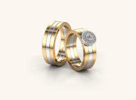 Обручальное кольцо #7