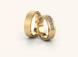 Обручальное кольцо #11
