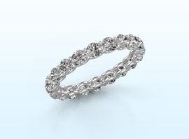 ring kristen 2.9 585 white gold Diamond 1.90 crt