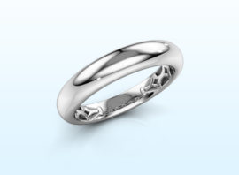 Ring Emely 3 585 white gold
