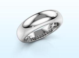 Ring Emely 7 585 white gold