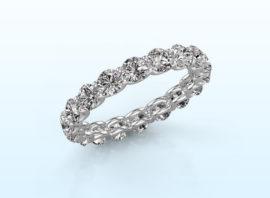 ring kristen 3.4 585 white gold diamond 2.700 crt